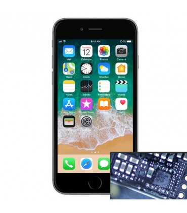 Reparacion chip iluminacion iPhone 6