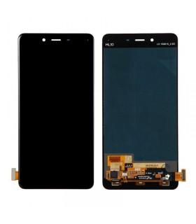 Pantalla completa (LCD/display , digitalizador/táctil) negra para Oneplus X