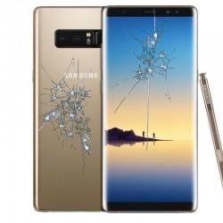 Reparacion pantalla (cristal) + tapa trasera Samsung Note 8 N950F