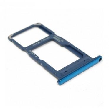 Bandeja Dual SIM Micro SD Huawei P Smart 2019 Azul