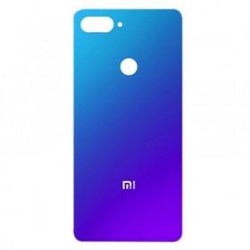 Tapa traseira Xiaomi Mi 8 lite Azul