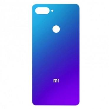 Tapa trasera Xiaomi Mi 8 lite Azul