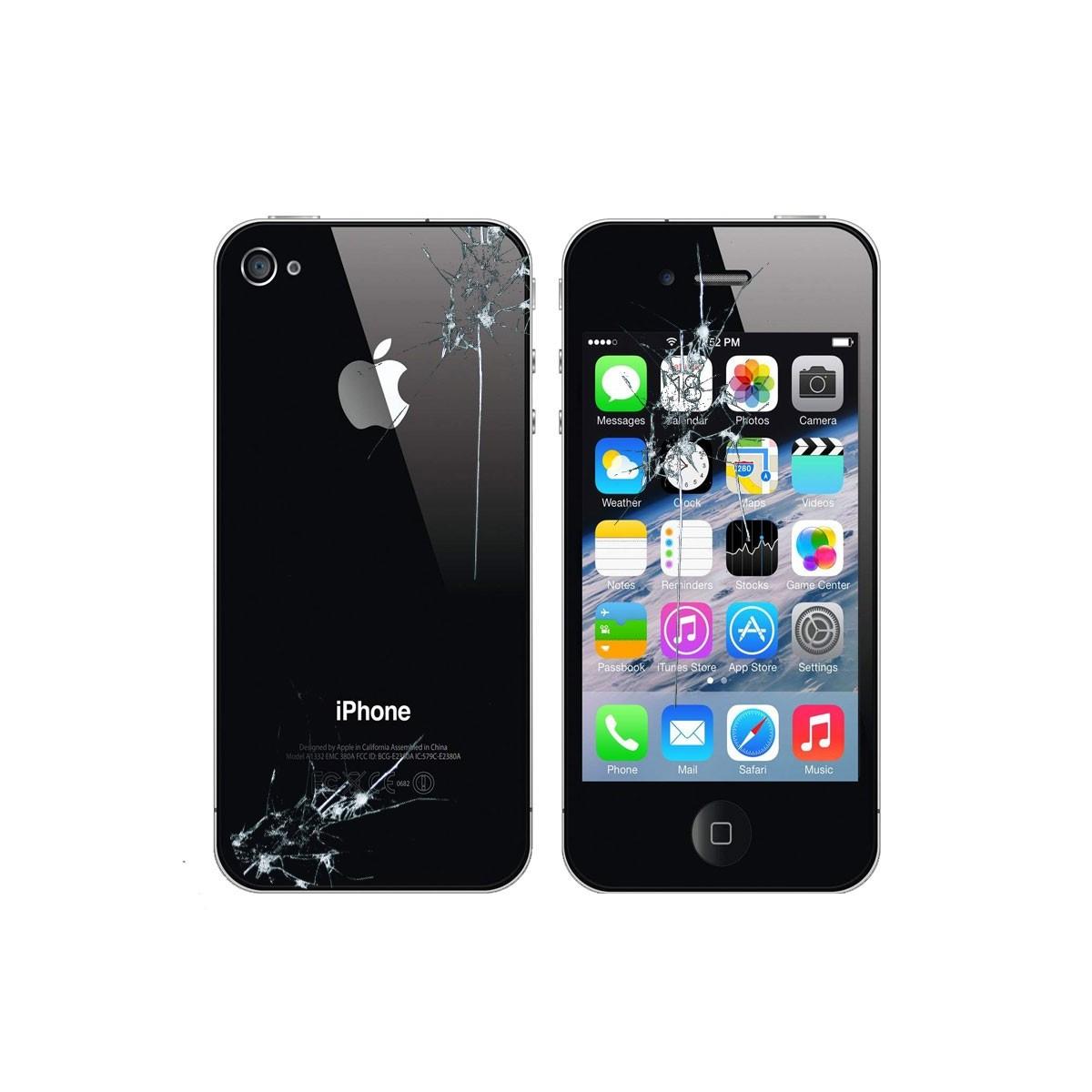 Reparacion Pantalla y tapa trasera Iphone 4s