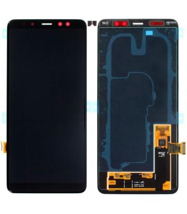 Pantalla completa Samsung Galaxy A8 + 2018 A730 Negro