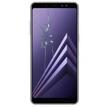 Reparacion Pantalla completa Samsung A8 + 2018 A730 Negro