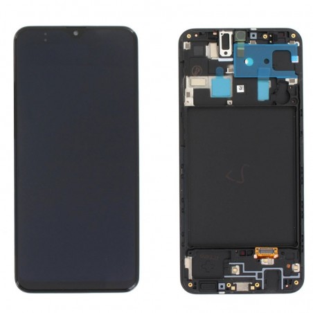 Pantalla original Samsung Galaxy A20 A205 Negro