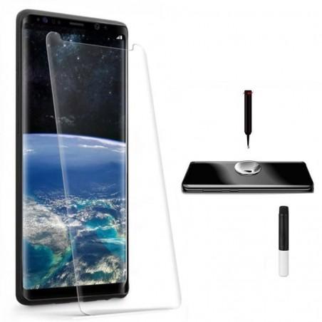 Protector ecrã cristal templado UV Curvo Samsung Galaxy S8