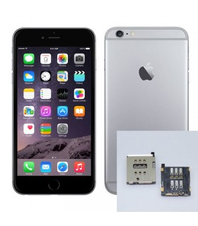 Reparacion Lector SIM iPhone 6s Plus