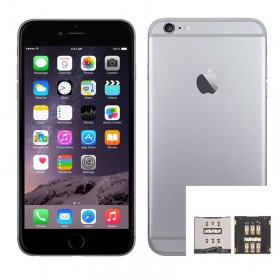 Reparacion Lector SIM iPhone 6 Plus
