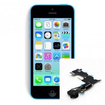 Reparacion Conector de carga iPhone 5C
