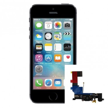 Reparacion Conector de carga iPhone 5s