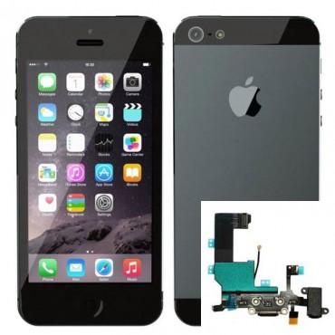 Reparacion Conector de carga iPhone 5
