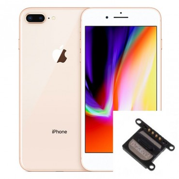 Reparacion Altavoz auricular iPhone 8 plus
