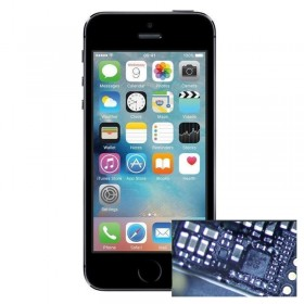 Reparacion Chip iluminacion iphone 5s