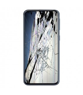 Reparación Ecrã completa original Samsung A405F/DS Galaxy A40 Preto