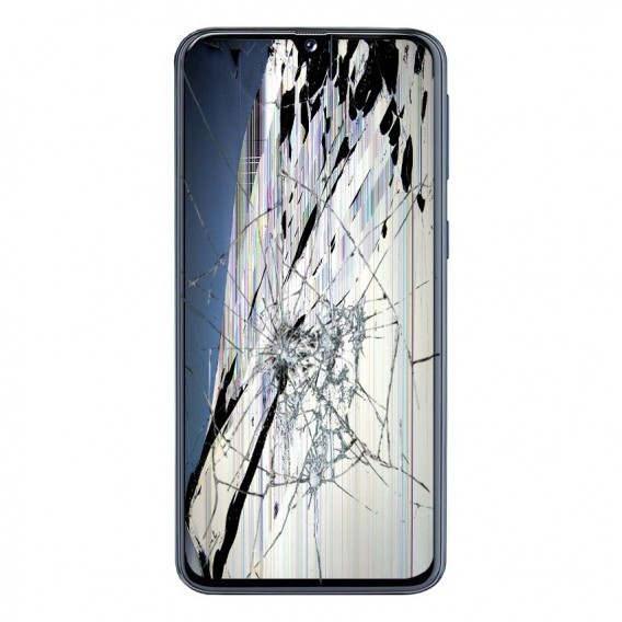 Reparación Pantalla completa original Samsung A405F/DS Galaxy A40 Negro