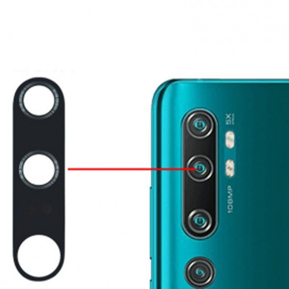 Lente Camara trasera Xiaomi Mi Note 10