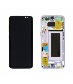 Ecrã LCD Display , Tactil com Marco Original para Samsung Galaxy S8 G950 VIOLETA