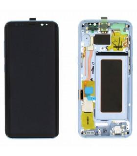 Pantalla completa Samsung Galaxy S8 G950F Azul ORIGINAL
