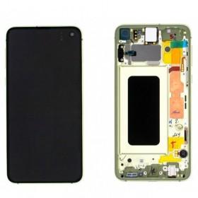 Pantalla completa Samsung Galaxy S10e (SM-G970F/DS) Amarillo ORIGINAL