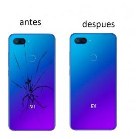 Reparacion Tapa trasera Xiaomi Mi 8 lite en cualquier color