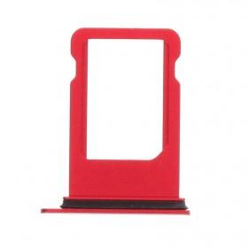 Bandeja SIM para iphone 8 A1863, A1905 Rojo