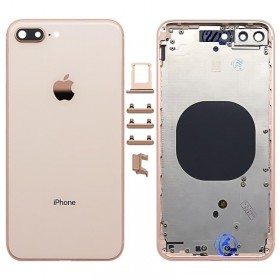chasis Tapa trasera sin componentes iphone 8 plus A1897 Oro