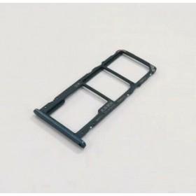 Bandeja Dual SIM Micro SD Huawei Y6 2019 Azul oscuro