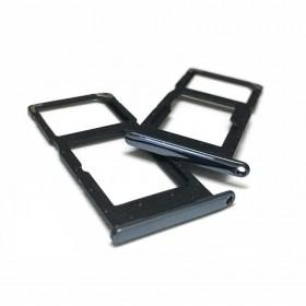 Bandeja Dual SIM Micro SD huawei p smart 2019 Negro