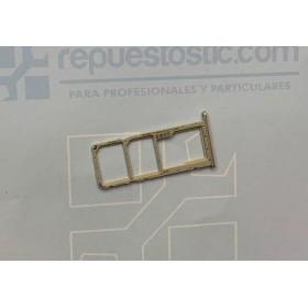 Bandeja Dual SIM Micro SD Oro