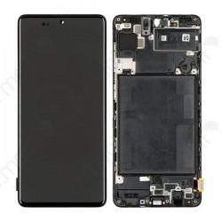 Pantalla completa con marco Samsung Galaxy A71, SM-A715F Negro