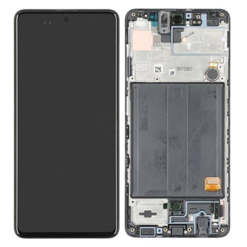 Pantalla completa con marco Samsung Galaxy A51, SM-A515 Negro