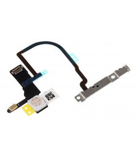 OEM Power ON/OFF Switch Button Flex Cable without Metal Plate for iPhone XS Max 6.5 inch
