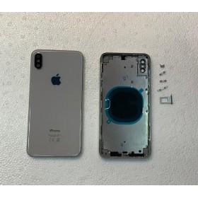 Chasis y tapa trasera sin componente para iPhone Xs Max Blanco