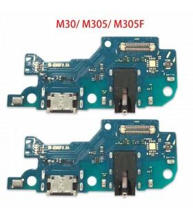 Modulo conector de carga y micro Samsung Galaxy M30 M305