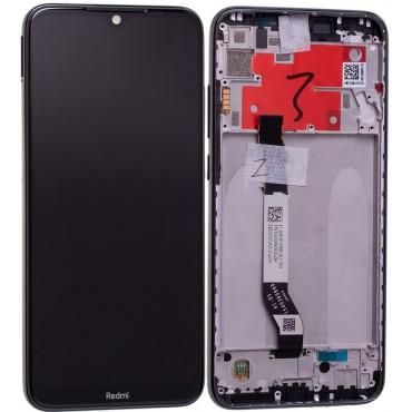 Pantalla original con marco Xiaomi Redmi Note 8T Negro (Gris medianoche)