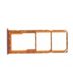 Bandeja Dual SIM Micro SD Samsung Galaxy A50 A505 Naranja