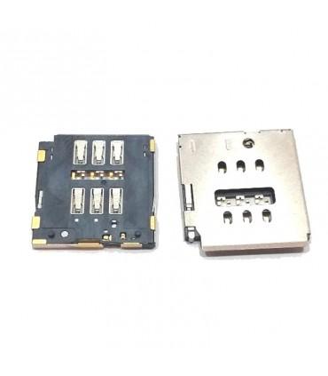 Lector de la tarjeta SIM iphone 7, A1660, A1778/ 7Plus, A1661, A1784