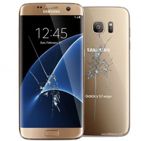 Reparacion Pantalla (solo cristal) y tapa trasera Samsung Galaxy S7 Edge G935F