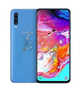 Reparacion pantalla y tapa trasera Samsung Galaxy A70 A705 cualquier color
