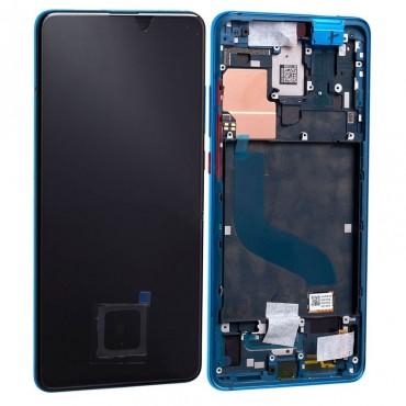 Pantalla completa original con marco Xiaomi Mi 9T/ Mi 9T Pro/ K20/ K20 Pro Azul Glaciar