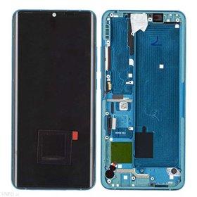 Pantalla completa original con marco Xiaomi Mi Note 10 Verde