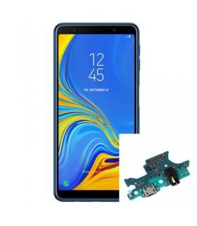 Reparacion Microfono y Conector de carga Samsung galaxy a7 2018 a750