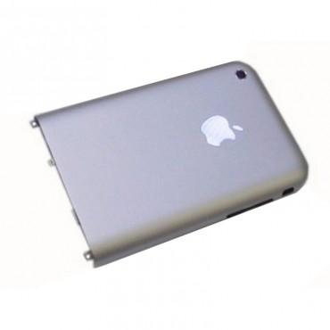 iPhone 2G carcaça, tapa bateria prata com anclajes e guias