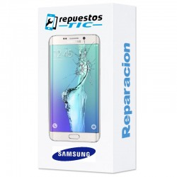 Reparacion pantalla Original Samsung S6 EDGE G925F BLANCA
