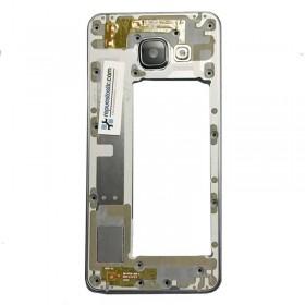 Carcaça central preta original Para Samsung Galaxy SM-A310- A3 (2016) (Remanufacturada)