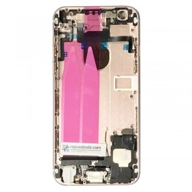 Carcaça Traseira Completa para iPhone 6 cor Oro Rosado