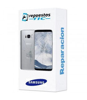 Reparacion Pantalla (solo cristal) y tapa trasera Samsung Galaxy S8 G950F