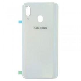 Tapa trasera Samsung Galaxy A40 Blanco
