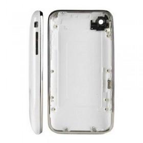 carcasa trasera BLANCA con marco metalico iphone 3GS de 8GB